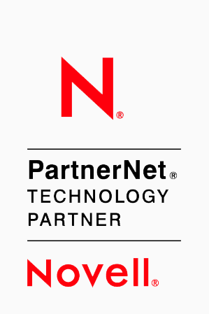 Novell Technology Partner Logo